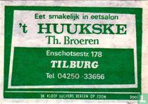 Eetsalon 't Huukske - Th. Broeren