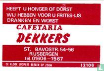 Cafetaria Dekkers