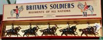 Egyptian  Cavalry 4 lancers with officer