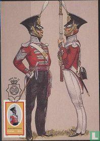Uniformen 98e Infanterie-regiment