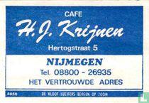 Cafe H.J. Krijnen
