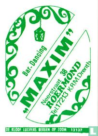 "Bar Dancing ""Maxim"""