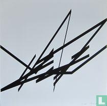 Albert Rubens - Geometrisch abstracte compositie, 1990