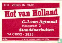 Hof van Holland - C.J. van Agtmaal