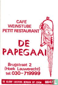 Café Weinstube De Papegaai