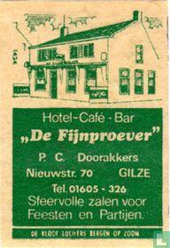 Hotel Café Bar De Fijnproever