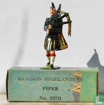 Gordon Highlanders Piper