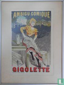 Les Maitres de l'Affiche Plate 30. Gigolette.