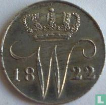 Netherlands 5 cents 1822