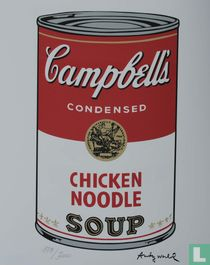 Campbell's SOUP - Serie II – Chicken noodle