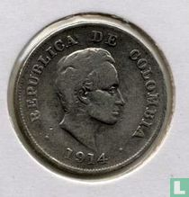 Colombia 20 centavos 1914