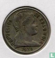 Colombia 2 centavos 1938