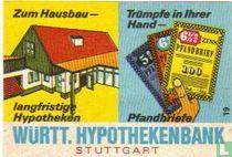 Württ. Hypothekenbank - Zum Hausbau langfristige Hypotheken