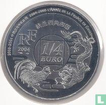 """Frankrijk ¼ euro 2004 """"Cultural Year between France and China"""""""