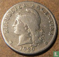 Argentinië 20 centavos 1920