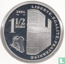 "Frankrijk 1½ euro 2004 (PROOF) ""200th Anniversary of the Coronation of Napoleon I"""