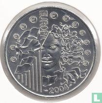 """Frankrijk ¼ euro 2004 """"European Union Enlargment"""""""