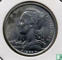 Comoren 5 francs 1964