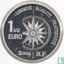 """Frankrijk 1½ euro 2004 (PROOF) """"Great Air Expresses"""""""