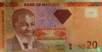 Namibia 20 Namibia Dollars 2013