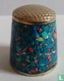 Gekleurd Blauw