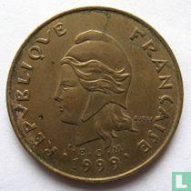 Frans-Polynesië 100 francs 1999