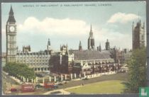 London, Houses of Parliament and Paliament Square