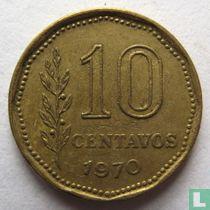Argentinië 10 centavos 1970