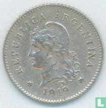 Argentinië 10 centavos 1919