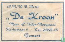 """A.N.W.B. Hotel """"De Kroon"""""""