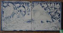 Arts & Crafts gedecoreerde tegels