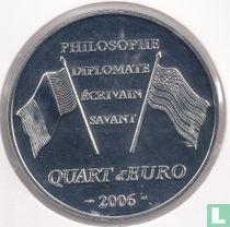"Frankrijk ¼ euro 2006 ""300th anniversary of the birth of Benjamin Franklin"""