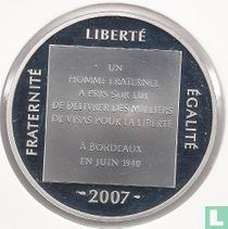 """Frankrijk 1½ euro 2007 (PROOF) """"Aristides de Sousa Mendes"""""""
