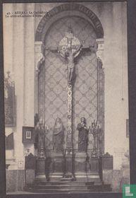 Arras, La Cathedrale - Le celebre Calvaire d'Arras