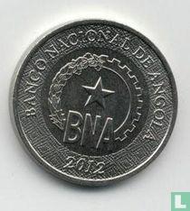 Angola 50 centimos 2012