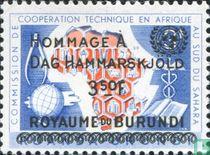 Hommage Dag Hammarskjold