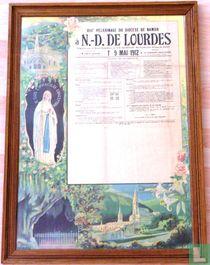 LOURDES. XIIIme pèlerinage du diocése de Namur.