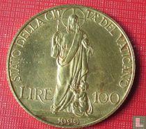 Vaticaan 100 Lire 1929