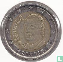 Spain 2 euro 2001