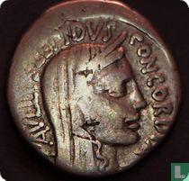 Romeinse Republiek, AR Denarius, 62 BC, Lepidus Paullus, Rome