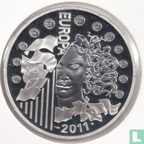 "France 10 euro 2011 (PROOF) ""30th Anniversary of International Music Day"""