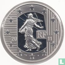 "France 10 euro 2011 (PROOF) ""10 years of the starter kit"""