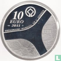 "France 10 euro 2011 (PROOF) ""Castle of Versailles"""