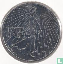 """France 50 euro 2010 """"La Semeuse"""""""