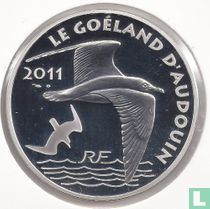 "France 10 euro 2011 (PROOF) ""50 years of the WWF - Audouin's gull"""