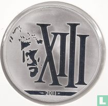 """France 10 euro 2011 (PROOF) """"XIII"""""""