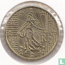 France 10 cent 2011
