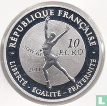"France 10 euro 2011 (PROOF) ""2014 Winter Olympics in Sochi - figure skating"""