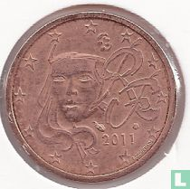 France 2 cent 2011
