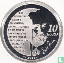 "France 10 euro 2011 (PROOF) ""Heroes of the French literature - Nana"""